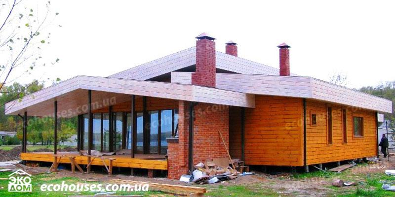 Деревянные дома в Запорожье