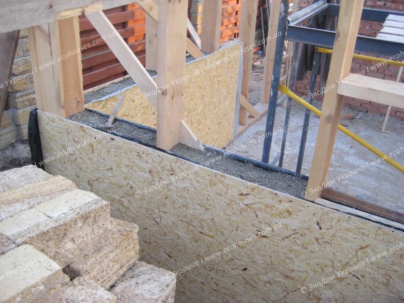 Технология EcoTech этапы строительства каркасного дома